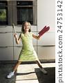 Baking Cookies Kid Bakery Fun Concept 24753142