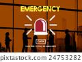 Emergency Service Ambulance Hospital Care Concept 24753282
