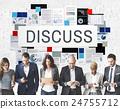 Discuss Discussion Negotiation Talking Debate Concept 24755712