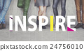 Inspire Ideas Creative People Graphic Concept 24756010