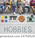 Hobbies Leisure Lifestyle Pastime Fun Concept 24756028