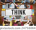 Think Thinking Vision Inspiration Concept 24756064