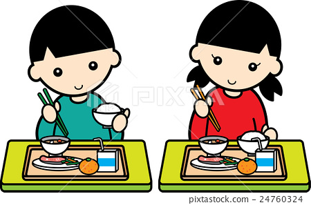 孩子們吃午飯 24760324