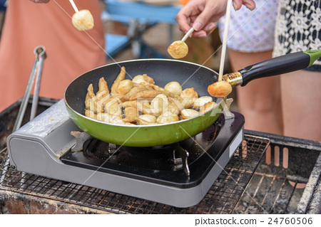 菲律宾灵魂食物食物鱼丸 24760506