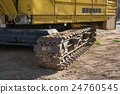 Detail of the caterpillar track 24760545