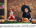 sisters celebrate Halloween 24761297