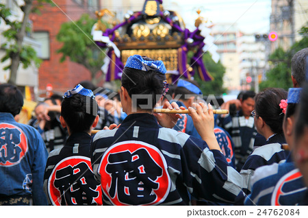 One scene of Ono Terakisaki Shrine example large festival 24762084