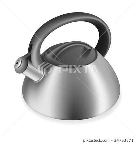iron kettle with a whistle 24763371