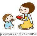お母さんと赤ちゃん 24768050