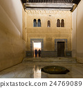 Courtyard of Gilded Room at Comares Palace, Alhambra 24769089
