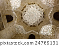 Dome of Hall of the two Sisters at Royal complex of Alhambra 24769131