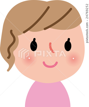 여성 성인 미소 24769252