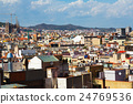 Day view of Barcelona city 24769536