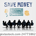 Save Money Managment Economy Finance Concept 24773862