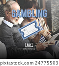 Gambling Betting Bet Jackpot Lottery Lucky Concept 24775503