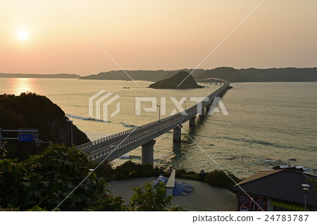 tsunoshima oohashi, tsunoshima bridge, blue water 24783787