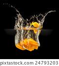 black, fruit, lemon 24793203