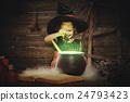 萬聖節 女巫 女孩 24793423