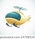 Helicopter vector illustration 24798526