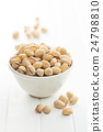 The pistachio nuts. 24798810