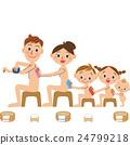 bath, closeness, family 24799218
