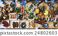 Food Catering Cuisine Culinary Gourmet Buffet Party Concept 24802603