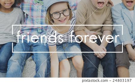 Friendship Together Togetherness Partner Friends Concept 24803197
