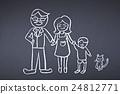 칠판, 가족, 패밀리 24812771