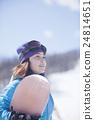 滑雪板 人 人物 24814651