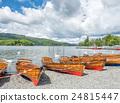 Kayak boat side lake 24815447