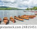Kayak boat side lake 24815451