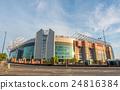 Sir Alex Ferguson stand in Old Trafford stadium 24816384