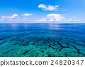 seascape, Okinawa, blue 24820347