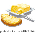 butter with bread 24821864