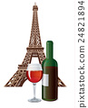 bottle of french wine 24821894