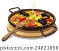 spanish food paella 24821898
