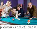 People playing billiard 24826731