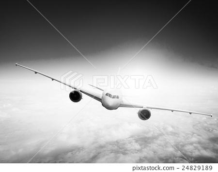 Airplane Flight Departure Journey Trip Concept 24829189