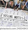 design, handwriting, ideas 24834843