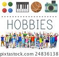 Hobbies Leisure Lifestyle Pastime Fun Concept 24836138