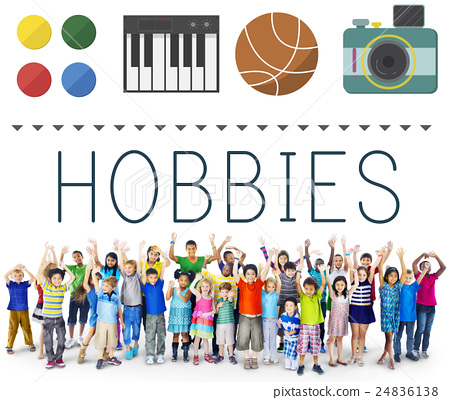 Hobbies Leisure Lifestyle Pastime Fun Concept 24836138