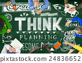 Think Thinking Planning Strategy Creative Concept 24836652