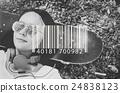 Bar Code Item Label Sign Concept 24838123