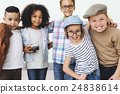 Children Friendship Togetherness Playful Happiness Concept 24838614