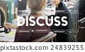 Discussion Argument Communicate Conference Concept 24839255