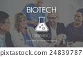 Scientific Biochemistry Genetics Engineering Concept 24839787