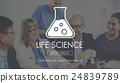 Scientific Biochemistry Genetics Engineering Concept 24839789