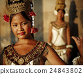 Beautiful Young Cambodian Dancer Concept 24843802