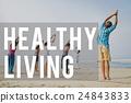 active, beach, healthy 24843833