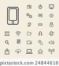 Vector Illustration UI Technology Icon Concept 24844616